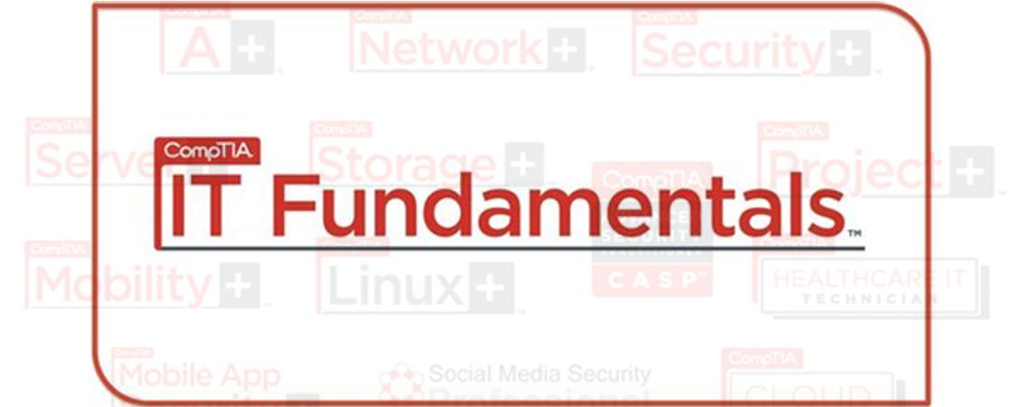 ประกาศรับสมัครบุคลากรสนใจอบรมหลักสูตร CompTIA IT  Fundamentals ห้องที่ 5-6